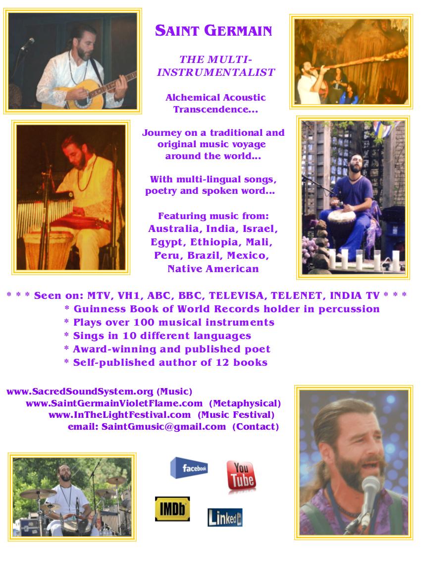 Saint Germain 2013 Multi Instrumentalist