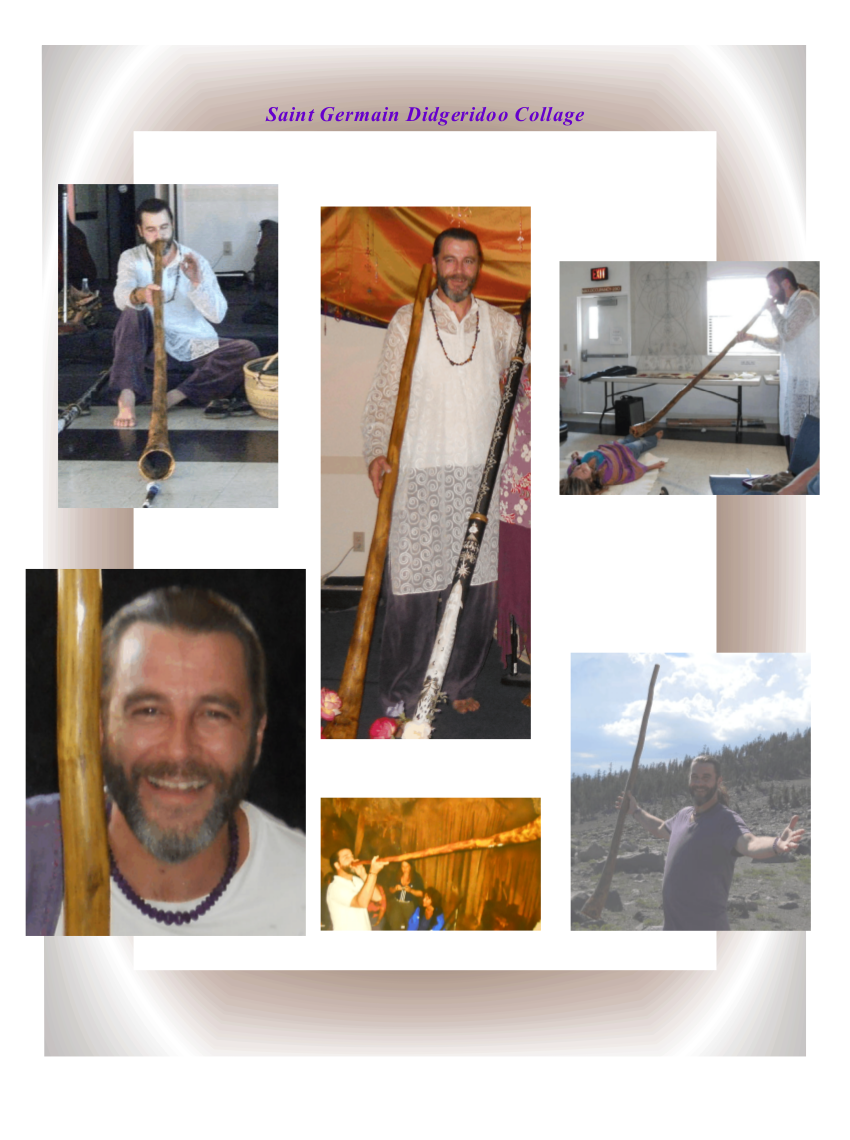 Saint Germain Didgeridoo Collage