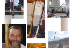 Saint Germain Didgeridoo Collage