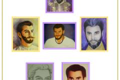 Saint Germain Painting Collage VF under photos