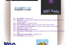 Saint Germain Radio Collage