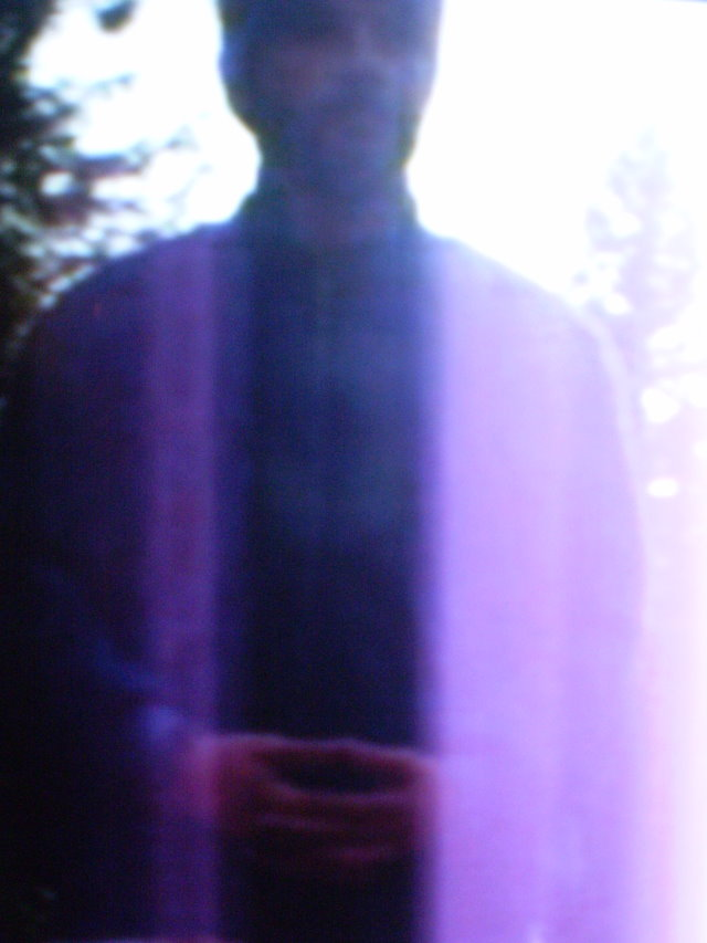 Purple robe of light
