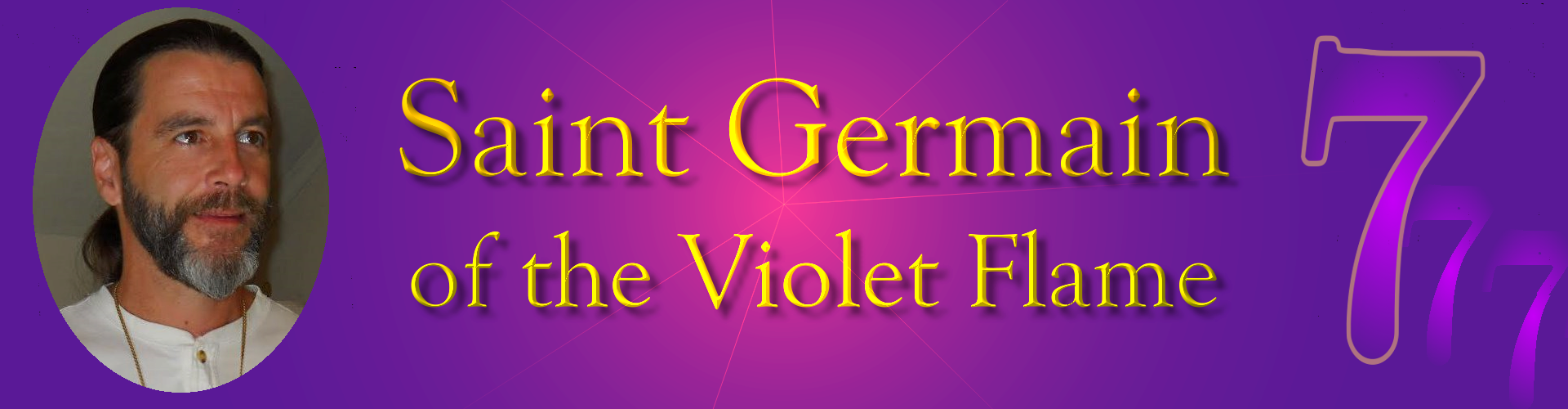 Saint Germain of the Violet Flame